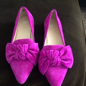 BP pink Bow flats size 6